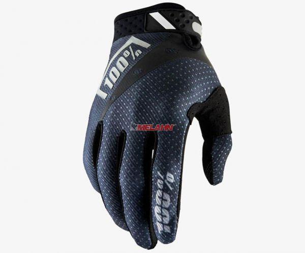 100% Handschuh: Ridefit , schwarz