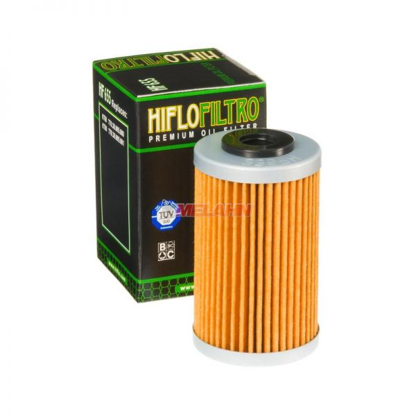 HIFLO Ölfilter HF655, KTM SX-F/EXC-F 250