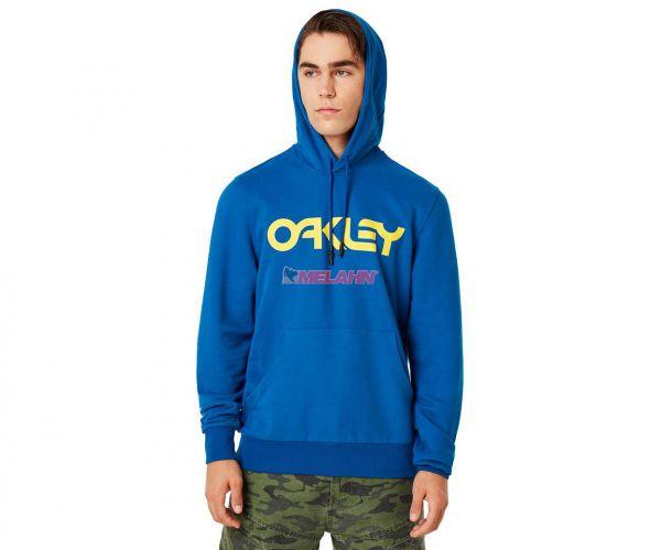 OAKLEY Hoody: B1B, blau