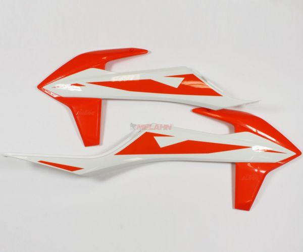 KTM Spoiler (Paar) mit Dekor SX 2019, weiß