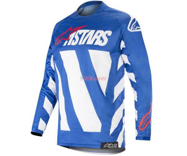 ALPINESTARS Jersey: Racer Braap, blau/weiß/rot
