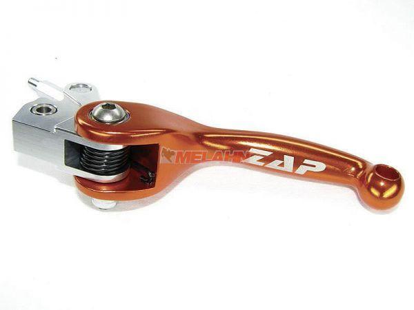 ZAP Flex-Kupplungshebel Brembo hydraulisch, orange