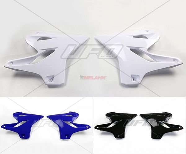 UFO Spoiler (Paar) Kühlerverkleidung YZ 125/250 15-, weiß