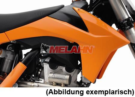 KTM Spoiler (Paar) ohne Dekor, SX 11-12 / EXC 12-13 / SMR 12, weiß 2011