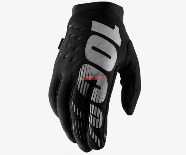 100% Women Handschuh: Brisker, schwarz