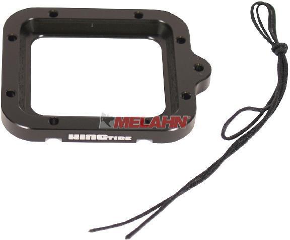 KINGTIDE GoProSicherung: Safety Lense Ring, für HERO 3, schwarz