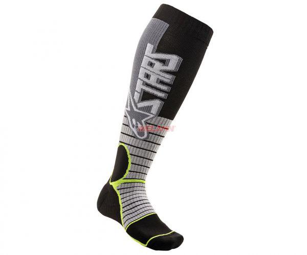 ALPINESTARS Socke (Paar): MX Pro, grau