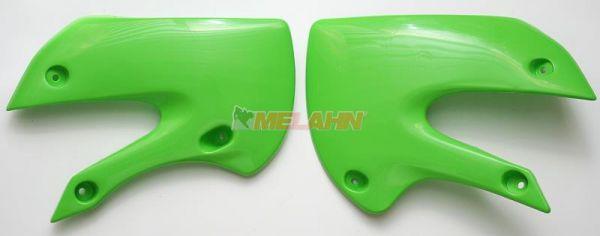 UFO Spoiler (Paar) Kühlerverkleidung KX 65 00-, neongrün