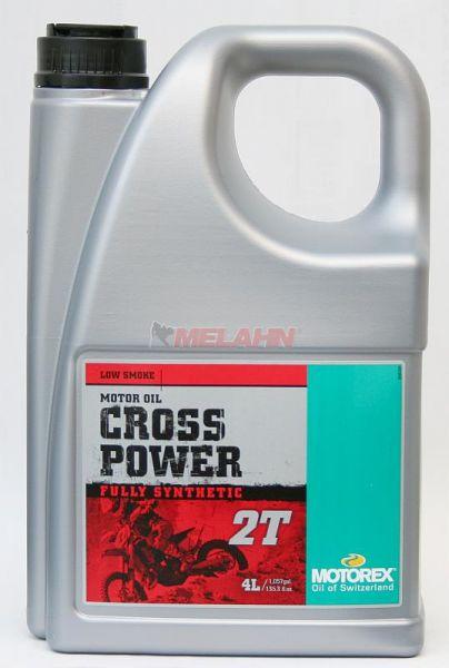 MOTOREX Cross Power 2T 4l, vollsynthetisches Mischöl