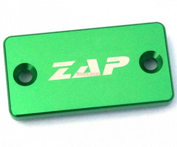 ZAP Aluminium-Deckel Handbremszylinder KX/KXF/RM/RMZ/YZ/YZF/WR, grün