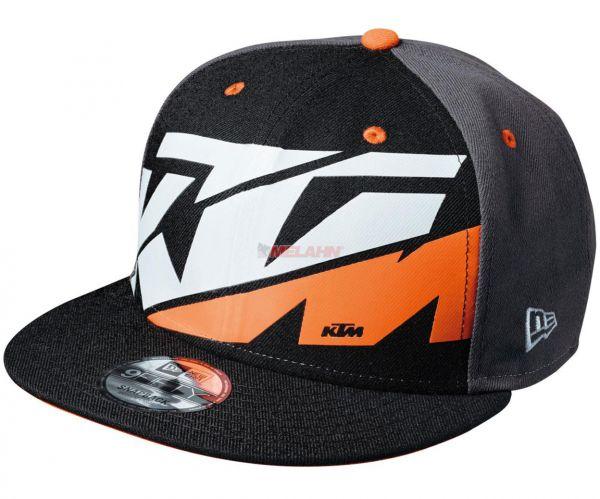 KTM Cap: Radical, schwarz/grau