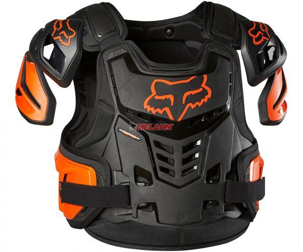 FOX Brustpanzer: Raptor Vest, orange