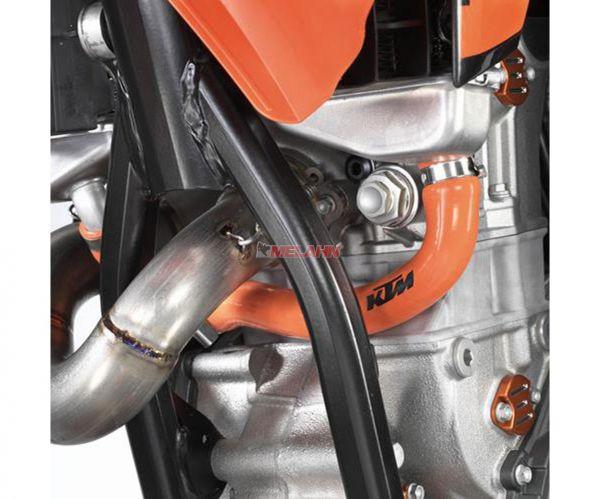 KTM Kühlerschlauch-Set 250/350 SX 16-, orange