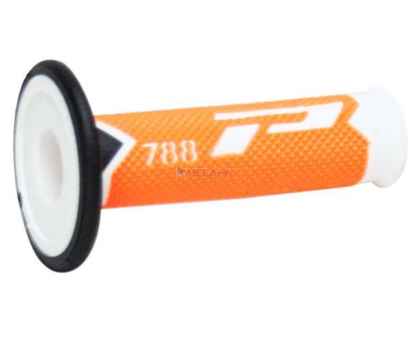 PROGRIP Griff (Paar): 788 Slim, neon-orange