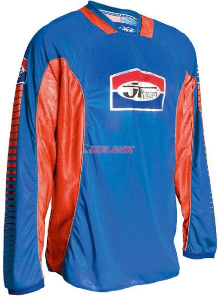 JT-RACING Hemd: Pro Tour, blau/rot