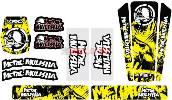 FX Trim Kit Metal Mulisha Suzuki universal