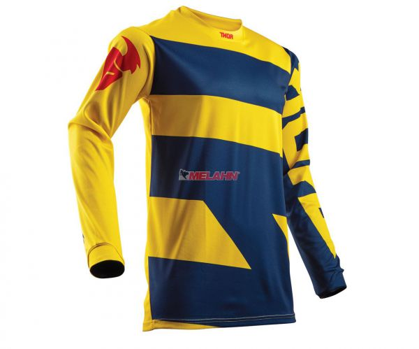 THOR Jersey: Pulse Level, navy/gelb