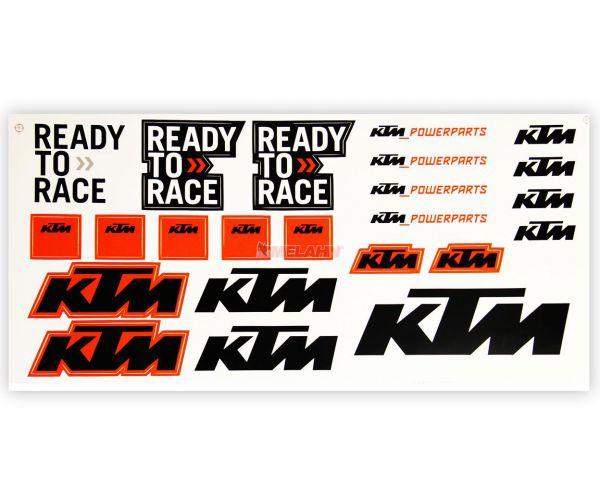 KTM Aufkleber-Kit: Logo II, 23-teilig