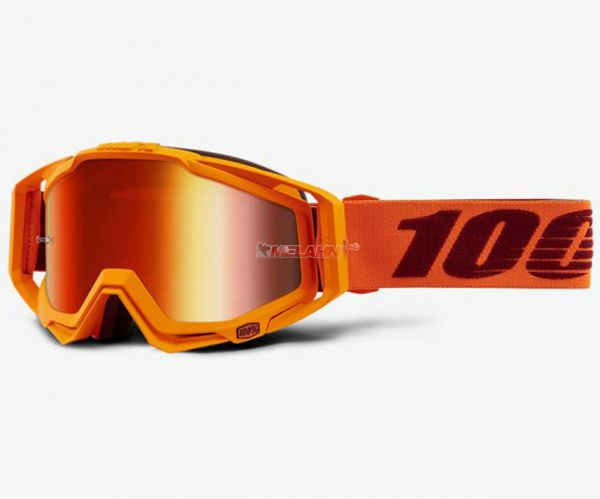 100% Brille: Racecraft Menlo, orange/rot