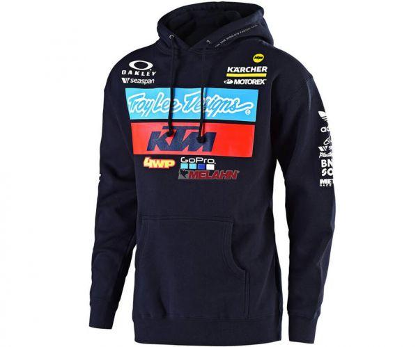 TROY LEE DESIGNS Hoody: KTM Team, navy