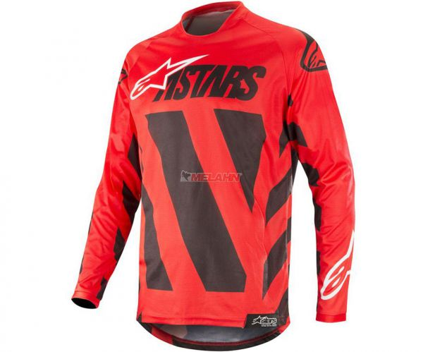 ALPINESTARS Jersey: Racer Braap, rot/schwarz