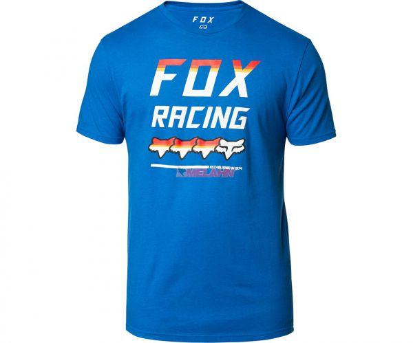 FOX Premium T-Shirt: Full Count, blau