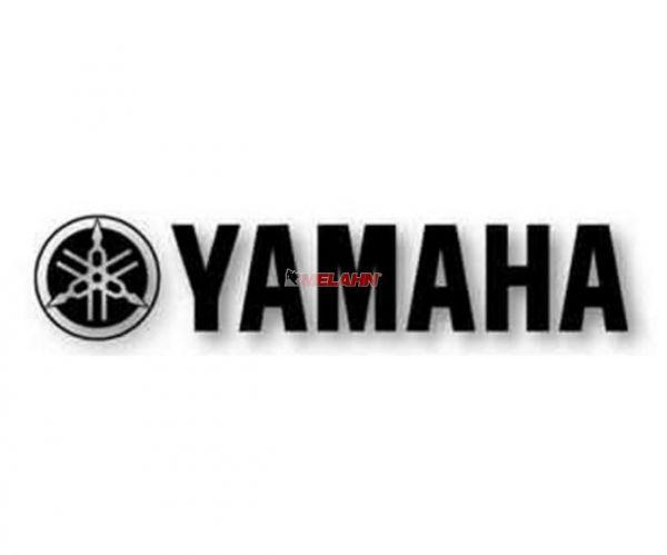 FX Aufkleber TDC: YAMAHA 31x4,5cm, schwarz