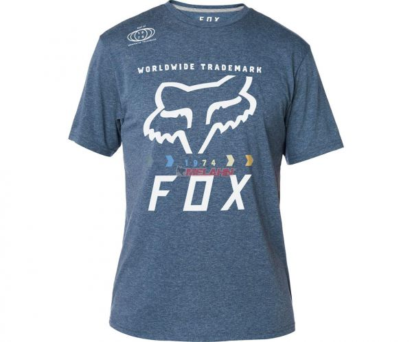 FOX Tech T-Shirt: Murc Fctry, blau