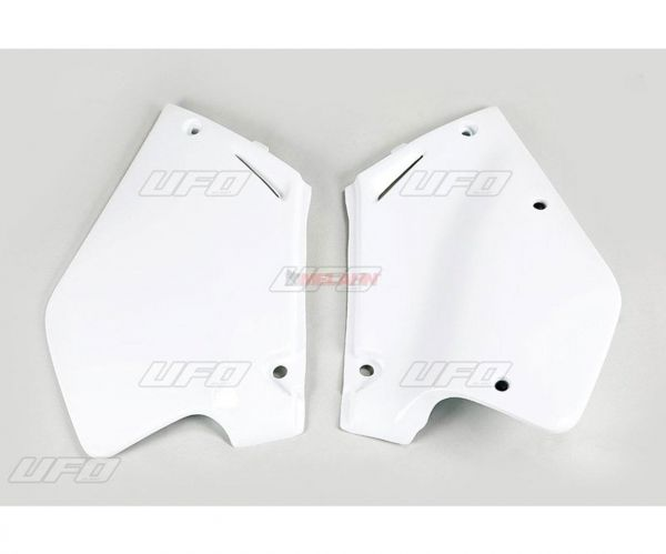 UFO Seitenteile (Paar) CR 125/250 00-01, weiß