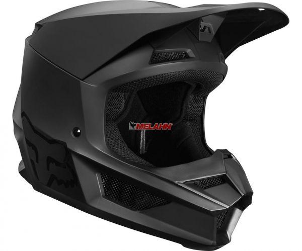 FOX Helm: V1 Matte, matte black