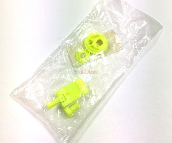 AXO Plastik-Helmschraube für MXO/MMO, gelb