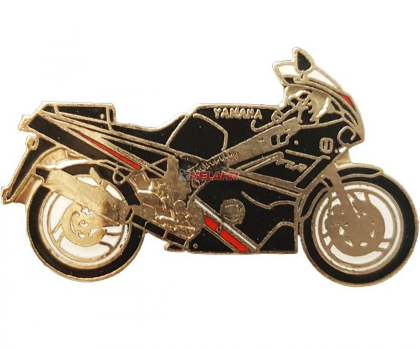 Pin YAMAHA FZR 600, schwarz