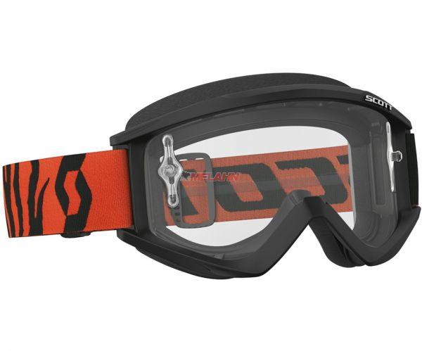 SCOTT Brille: Recoil Xi, schwarz/orange