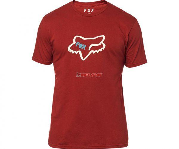 FOX Premium T-Shirt: Czar Head, rot