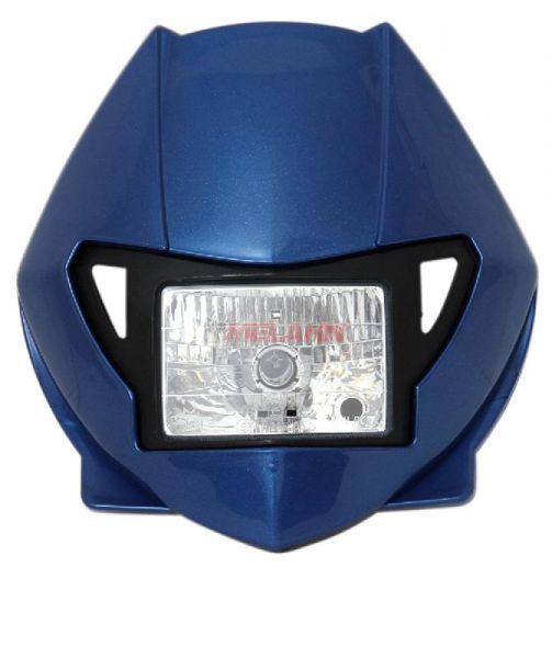 X-FUN Lampe: H3, blau-met.
