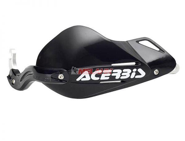 ACERBIS Handprotektor (Paar): Supermoto, schwarz