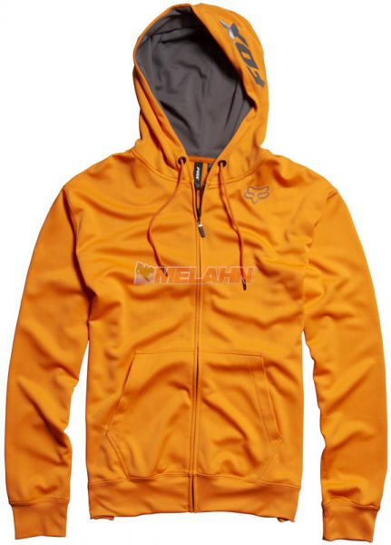 FOX Zip-Hoody: The Tourney, orange