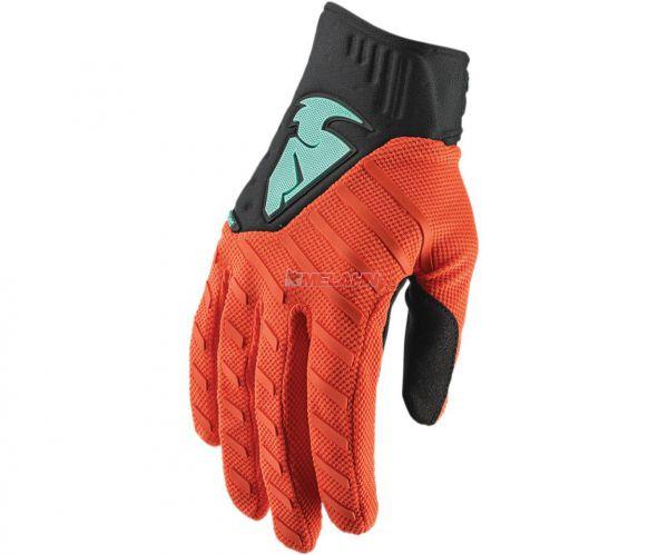 THOR Handschuh: Rebound, orange/schwarz