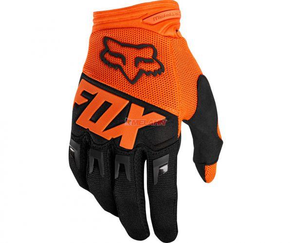 FOX Handschuh: Dirtpaw Race, orange