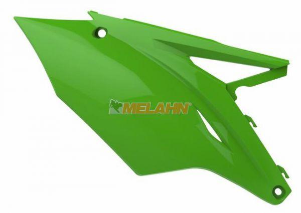POLISPORT Seitenteile (Paar) KXF 250 17- / 450 16-18, grün