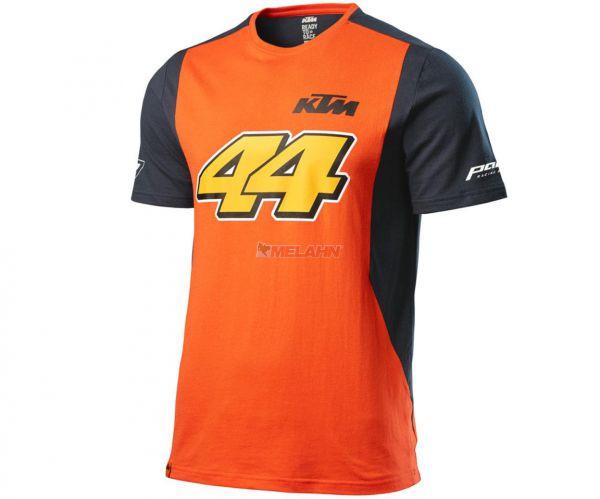 KTM T-Shirt: Espargaro #44, orange/schwarz