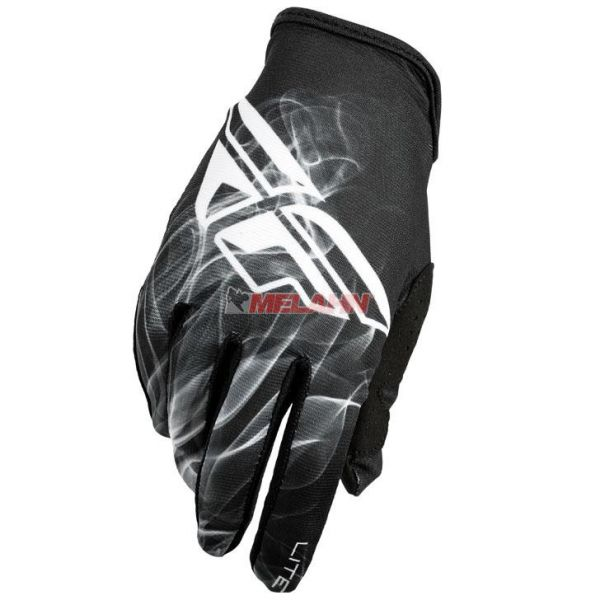 FLY Handschuh: Lite, schwarz/weiß