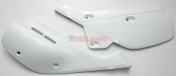 UFO Seitenteile (Paar) XR 600 R 88-00, weiß