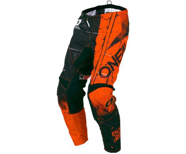 ONEAL Youth Hose: Element SHRED, orange/schwarz