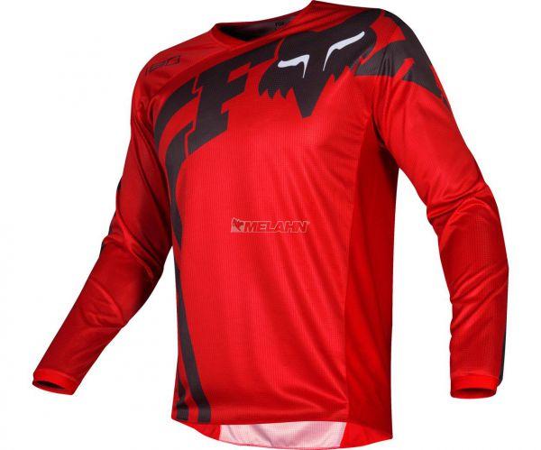 FOX Jersey: 180 Cota, rot/schwarz