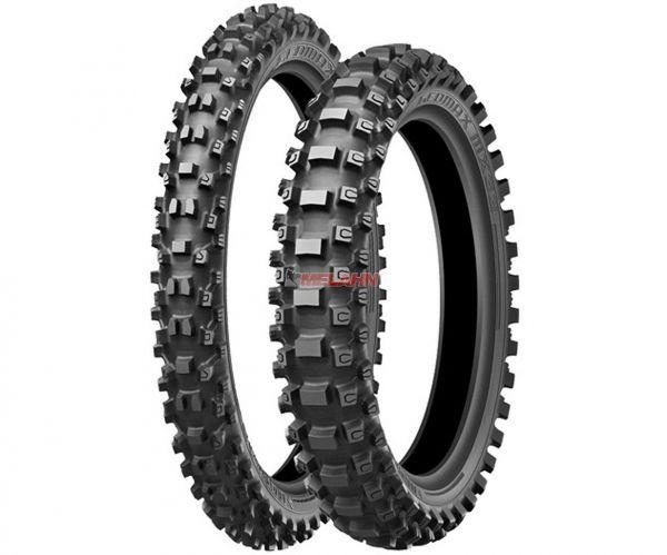 DUNLOP Reifen: Geomax MX33, 110/100-18