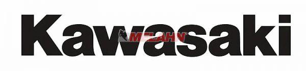FX Aufkleber TDC: KAWASAKI 165x20cm, schwarz