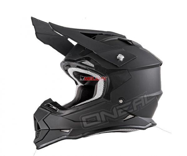 ONEAL Helm: 2Series, Flat, matt-schwarz