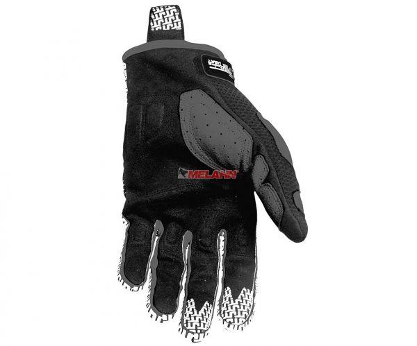 JT-RACING Handschuh: Flex Feel, schwarz/weiß