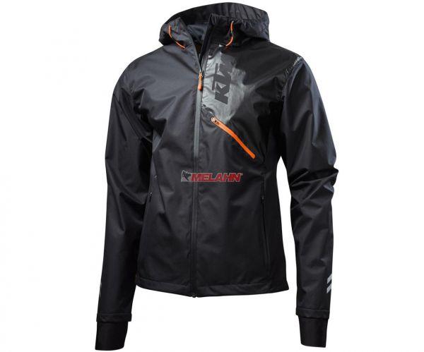 KTM Regenjacke: Pure, grau/schwarz